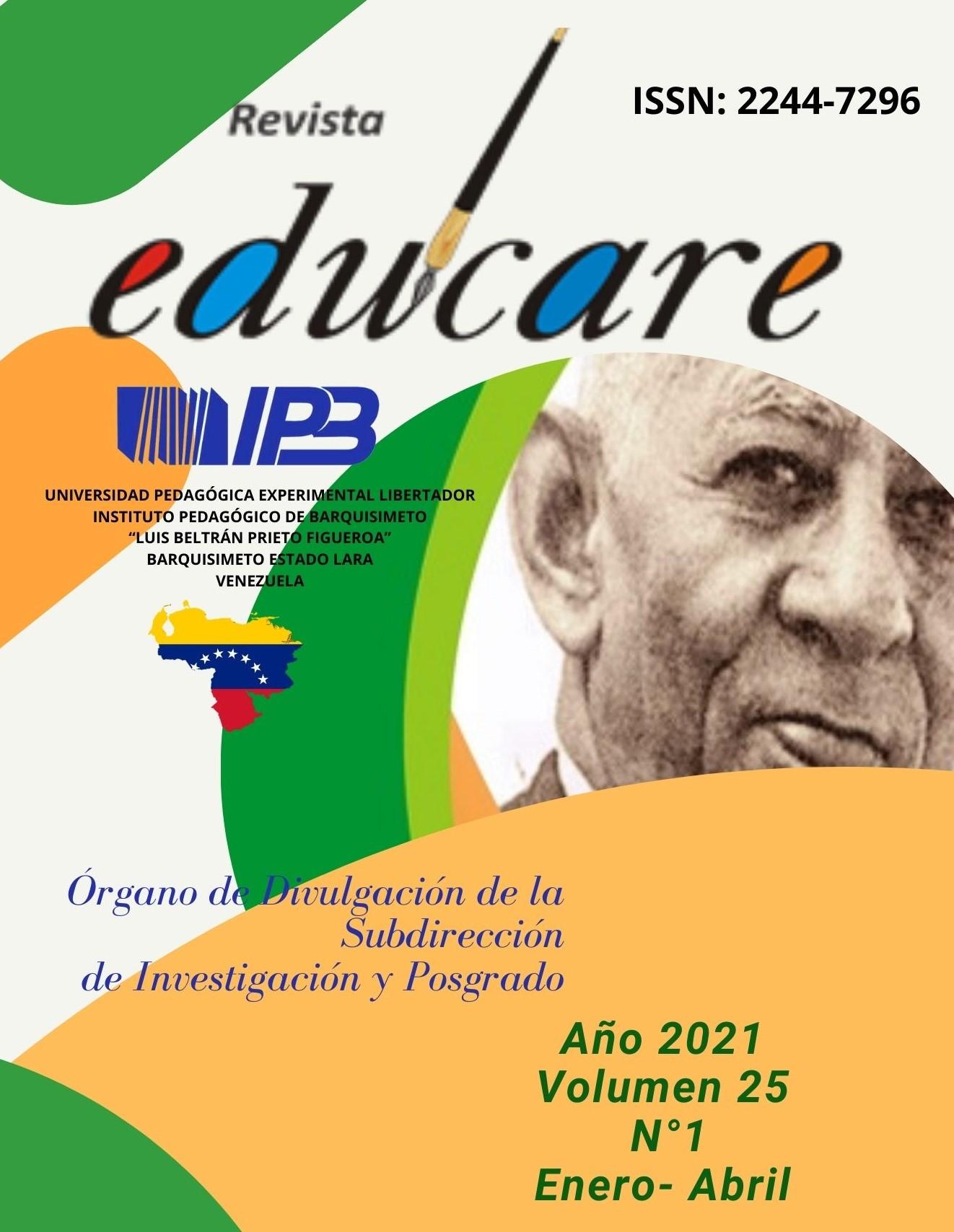 Revista Educare - Vol. 25 Núm. 1