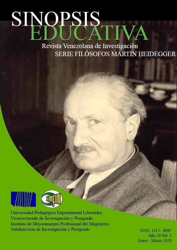 Ver Vol. 20 Núm. 1 (2020): Serie filósofos: Martin Heidegger